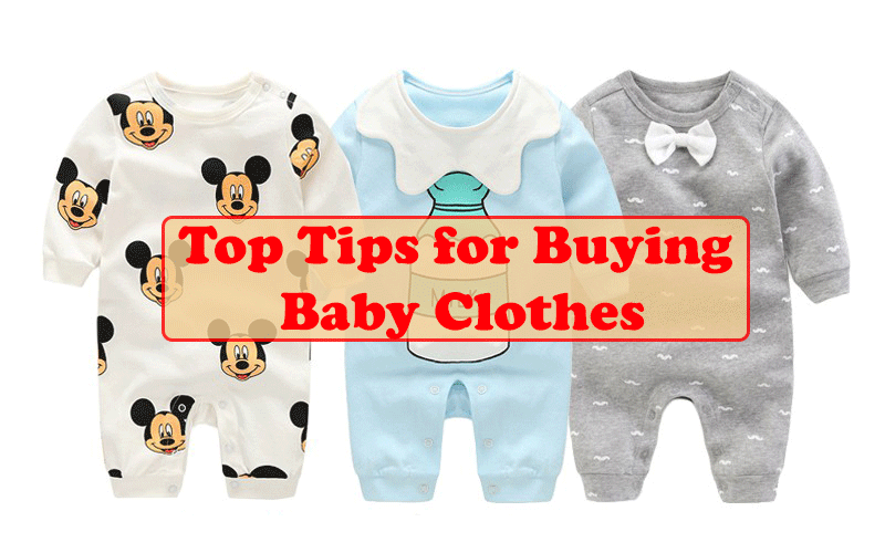 Top Tips for Buying Baby Clothes