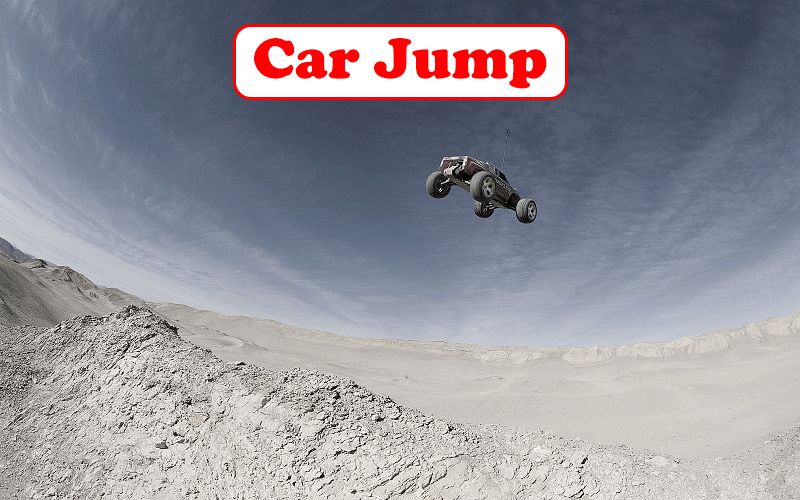 Car Jump From Hill