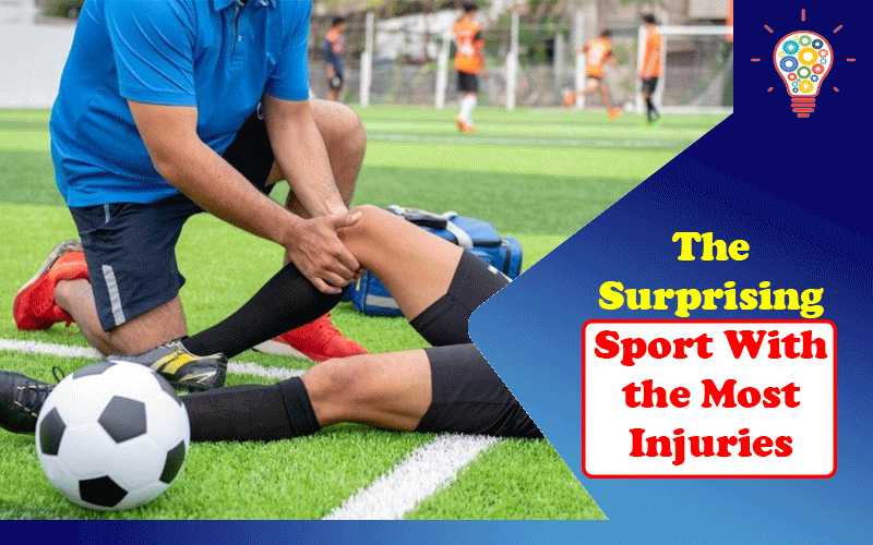 The Surprising Sport With the Most Injuries