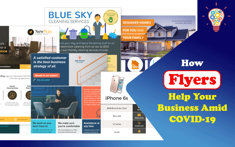 How Flyers Help Your Business Amid COVID-19